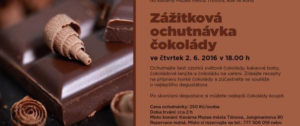 Zážitková ochutnávka čokolády