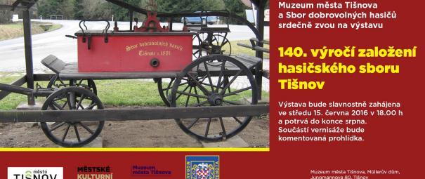 Výstava k 140. výročí založení SDH Tišnov