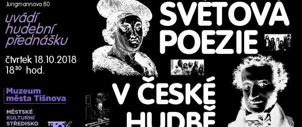 Světová poezie v české hudbě